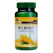 Витамин В комплекс таблеток биотин фолиевая кислота В1, В2, В6 В12 Сделано в Китае