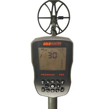Detector de Metales de oro subterráneo, resistente al agua, alta sensibilidad, Cazador...
