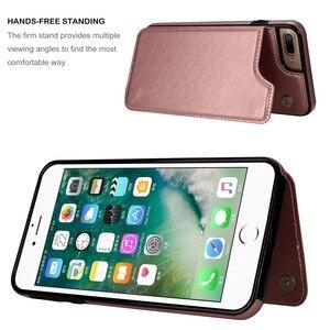 Роскошный тонкий кожаный чехол премиум-класса для IPhone 11 12 Mini Pro XR XS Max X 6 6s 7 8 Plus, противоударный чехол-книжка с отделениями для карт
