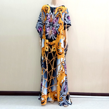 4ff2bd5761a2 Vestidos africanos para mujer Dashiki ropa Africana Bazin Riche ropa  Africana mujeres hilo flor ...