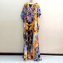 Robe africaine Dashiki, nouveau Design, nigéria, imprimé jaune Ankara, 2019