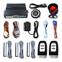 Car Alarm System Car Keyless Entry Remote Engine Start Car Start Stop System Remote Smart Key for PKE
