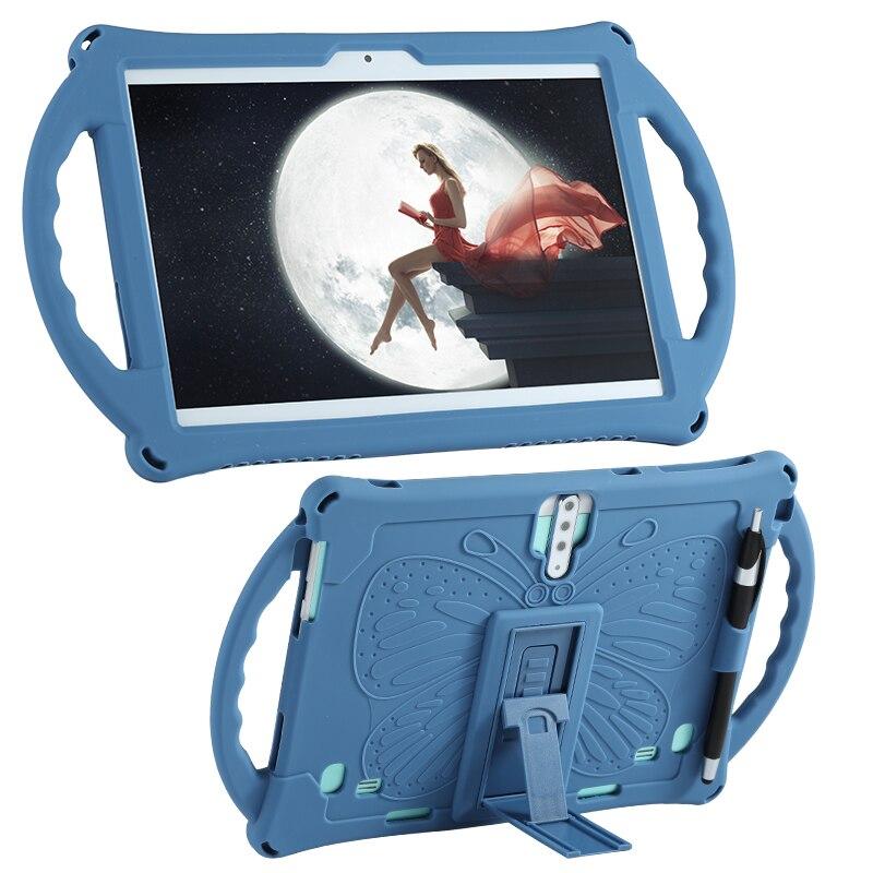 3D Мультяшные бабочки планшет 10,1 универсальный чехол Мягкий силиконовый чехол Чехол для мобильного телефона 10 10,1 дюймов планшетный ПК с сис...