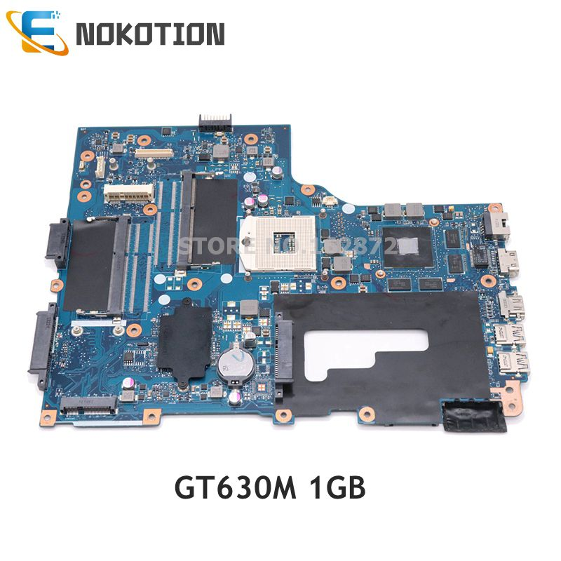 NOKOTION For Acer ASPIRE V3-771 V3-771G Laptop Motherboard NBRYN11001 VA70 VG70 Mainboard HM77 DDR3 GT630M 1GB