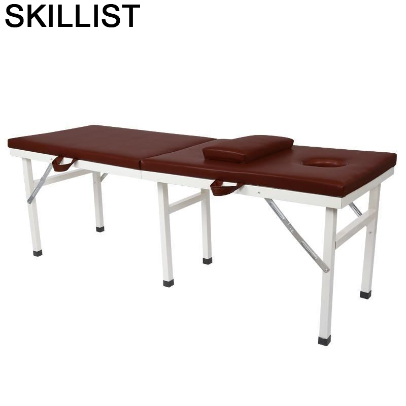 Foldable Beauty Salon Furniture Pedicure Envio Gratis Cama Para Table Chair Folding Camilla Masaje Plegable Massage Bed