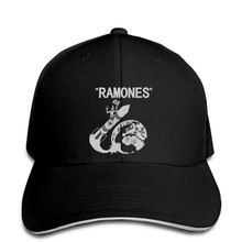 RARE!! Ramones Rocket To Russia Vintage 70s Tour Band Concert snapback hat Peaked(China)
