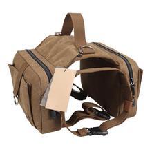 DannyKarl Travel Camping Hiking Backpack Pet Dog Saddlebags Pack Hound Saddle Bag Small Medium Large Dogs Rucksack