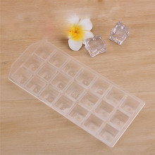 Mold Ice-Cube-Mold Mould-Tray Cool Plastic Summer Pudding Soft 21-Grid Environmental-Protection
