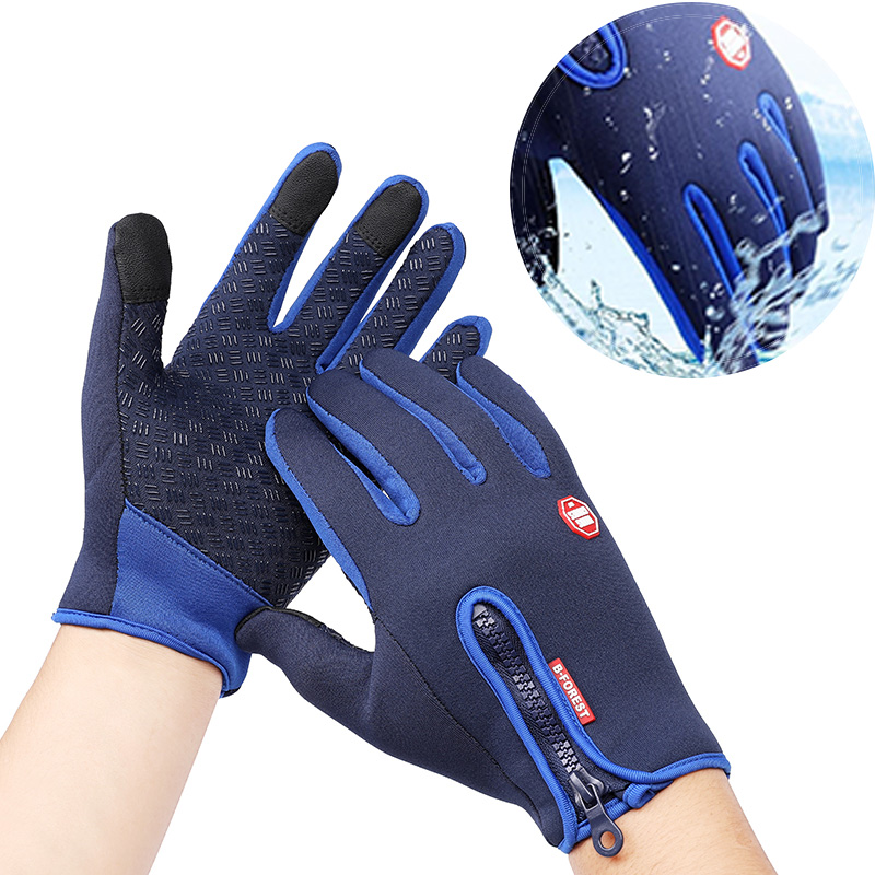 Winter Motorcycle Gloves Waterproof Touch For yamaha majesty 400 r15 v3 road star wr250f dt 125 pw 80 ATV Motos Heated Gloves|Gloves| |  - title=