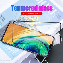 Full Cover Tempered Glass For Huawei Mate 30 Lite Screen Protector For Hauwei P30 P20 Pro Mate 20 Pro 30 Mate20 Glass Protective(China)