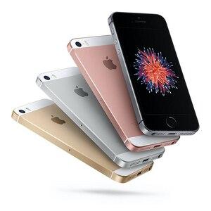 Разблокированный Apple iPhone SE LTE смартфон 2GB RAM 16/64 Гб встроенной памяти, за счет сканера отпечатков пальцев мобильный телефон