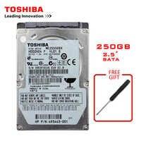 Marca TOSHIBA 250GB 2.5 SATA2 Taccuino Del Computer Portatile Interno 250G HDD Hard Disk Drive 150 Mb/S 2/ 8mb 5400-7200RPM disco duro interno