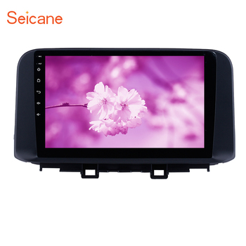 Seicane HD Touchscreen Android 9.1 Car Multimedia Player GPS For Hyundai ENCINO kona/Tucson 2018 2019 Bluetooth support Carplay image