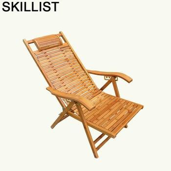 Salotto-sofá Plegable de bambú Para salón, sillón Reclinable, sillón Moderno Para Sala...