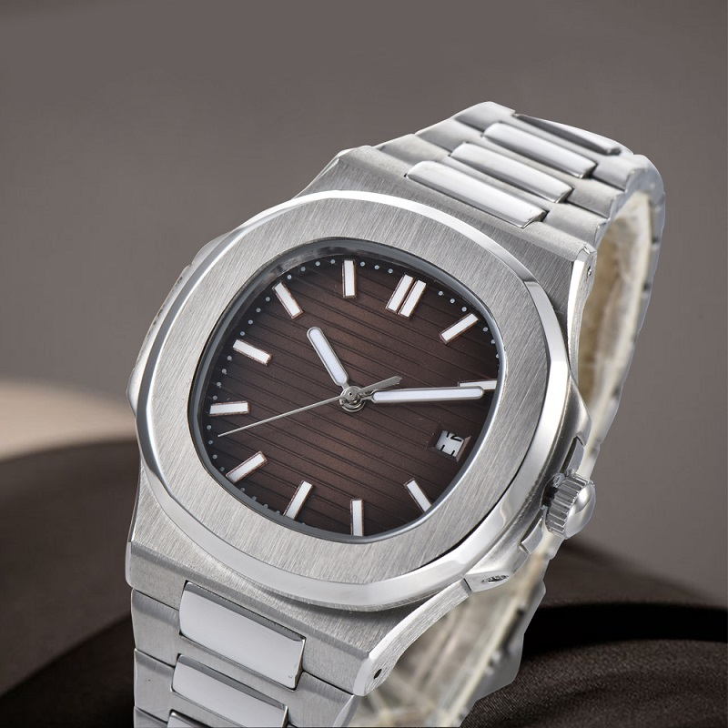 Permalink to Watch Men 41mm Automatic mechanical watch Waterproof steel watch NAUTILUS stainless steel case steel bracelet