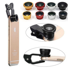 Camera Lens Lentille Wide Angle Zoom Smartphone Mobile Phone For Iphone 8 7 XR XS MAX Macro Fisheye Kit Ojo Pez