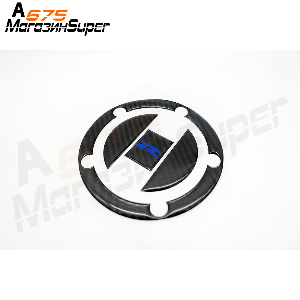 2 COLOR Carbon Motorcycle Tank Pad Gas Cap <font><b>Sticker</b></font> <font><b>Decal</b></font> for <font><b>Suzuki</b></font> GSXR 600 <font><b>750</b></font> 1000 1300 Hayabusa SV650 K4 K5 K6 K7 K8 K9 K11 image