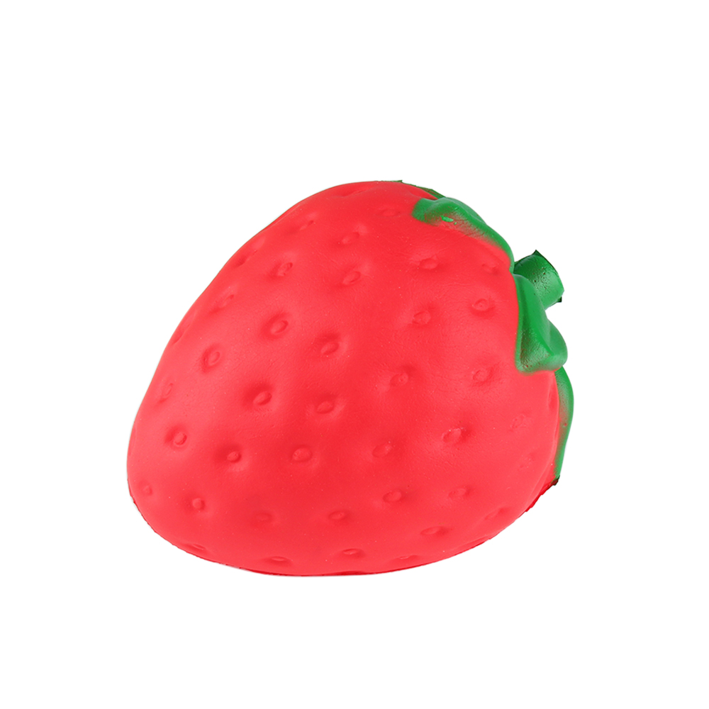 Squishy Toy Pink Red Strawberry Slow Rising Antistress Toy Soft Squeeze Cute Stretchy Toy Gift Wholesale