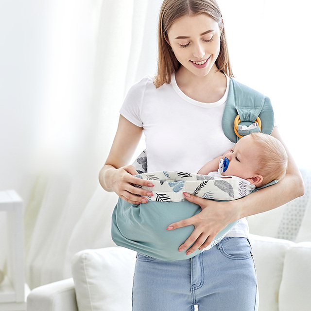 Baby Carrier Scarf Adjustable Front Facing Baby sling Wrap Baby Carrier Soft wrap Sling for Newborns Baby Kangaroos bag