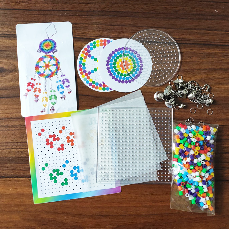 5mm beads 24/48/36box packing Hama beads Education Toys Iron beads handmaking perler Fuse beads diy toy Free shipping 9