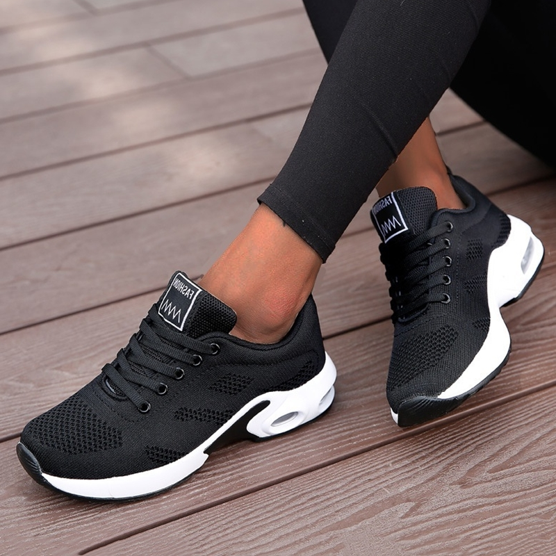 Women Sneakers Breathable Air Cushion Running Shoes Size 35-42 Outdoor Fitness Sports Shoes Female Lightweight Gym Footwear