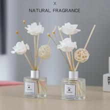 50ml No Fire Vine Branch Aromatherapy Set Reed Diffuser Glass Bottle Essential Oil Office Home Decorations dorm room essentials