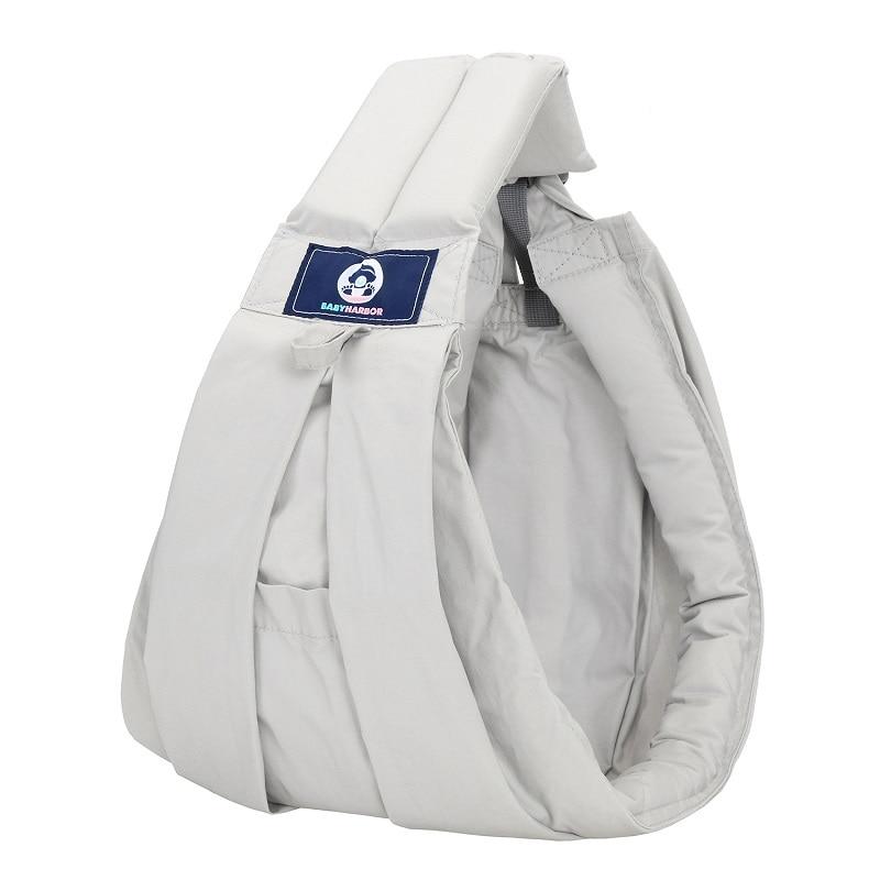 Carrier-Sling Wrap Ergonomic Kangaroo-Bag Newborns Breathable Baby for Soft Nursing-Pouch