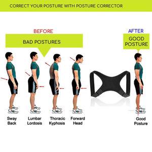 Image 2 - Nova postura corrector volta apoio cinto ombro bandagem corset volta ortopédico coluna postura corrector alívio da dor nas costas