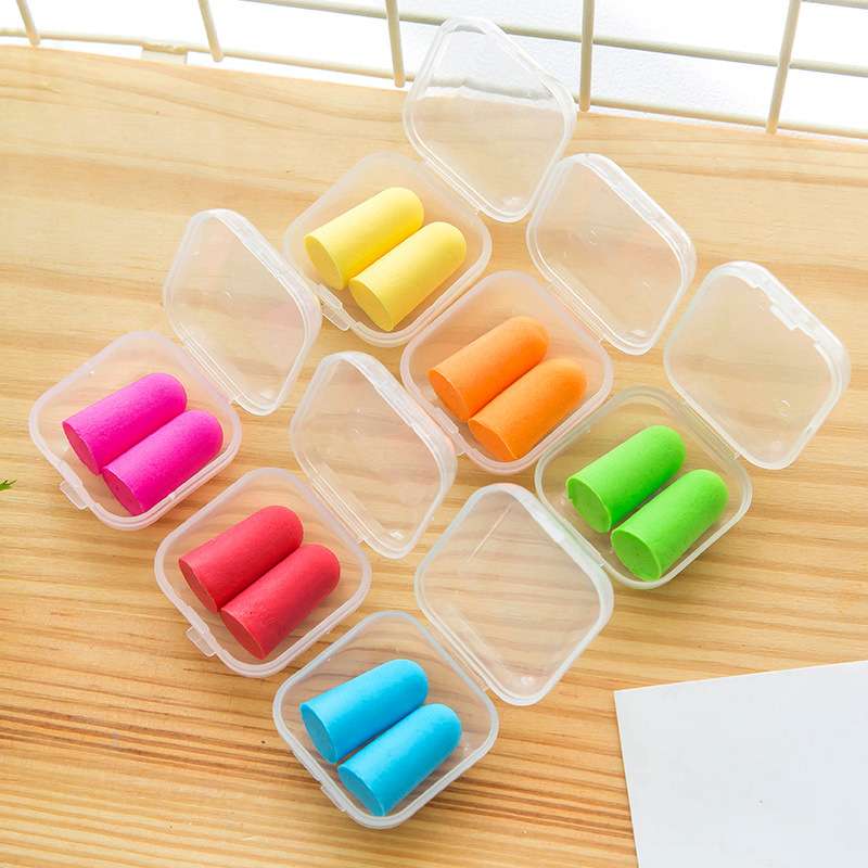 2141 Noise Reduction Earplug Pajama Anti-noise Sleep For Learning Profession Mute Men And Women Snoring Silencer