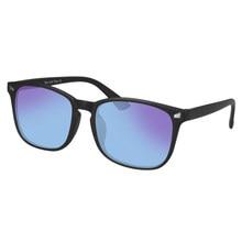SHINU-gafas de sol de Color rojo y verde para hombre y mujer, lentes de corrección con dioptrías, astigmatismo, Unisex, gafas daltónicos transparentes