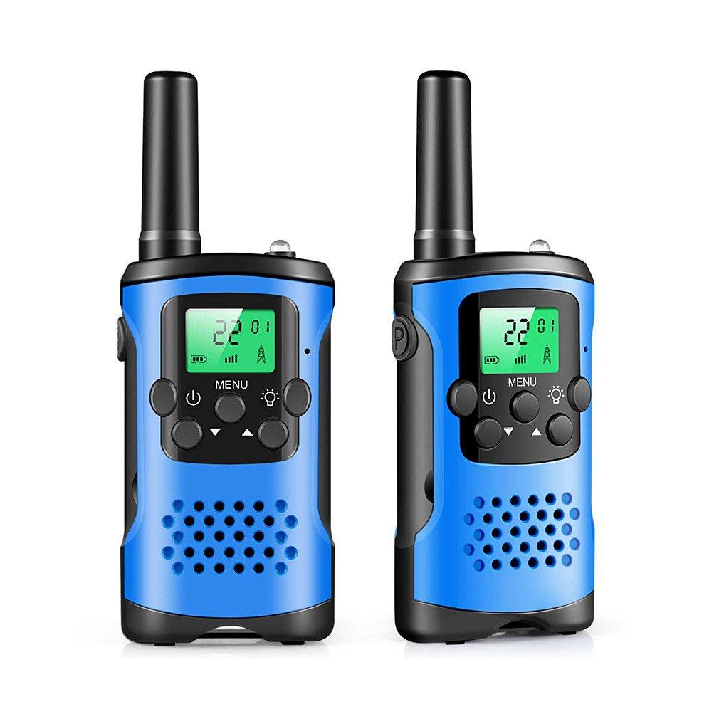 2Pcs Two Way Radio Kids Walkie Talkie Mini Children's Outdoor Self Driving Walkie Talkie Gadget Up To 3km