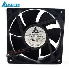 Original for delta AFB1224HE 24V 0.36A 12cm 12038 large air frequency converter cooling fan 148.34CFM 3500RPM стоимость