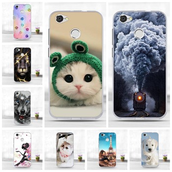 ZTE Blade A6 Case Cartoon Painting Patterns TPU Soft Silicone Cover For ZTE A6 Case Cover Coque 5.2 inch Fudas for ZTE A6 Lite image