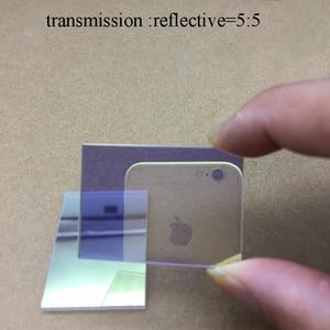 Оптическое стекло полуреверсивный полутрансмиссионный призмовый спектрометр 50/50 Видимый Световой спектрометр 420-680nm разделитель пучка при...