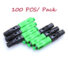 Ftth-Tool Connector Cold-Fiber Sc Apc 100PCS Embedded