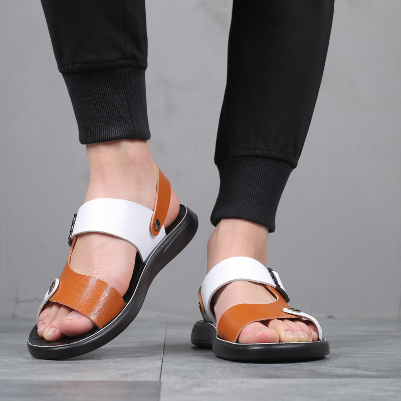 2019 New Style Summer Sandals Casual Sandals Korean-style Youth Sandals Fashion Soft-Sole Slipper