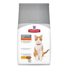 Корм для кошек Hill's Science Plan для стерилизованных, курица сух. 1,5кг