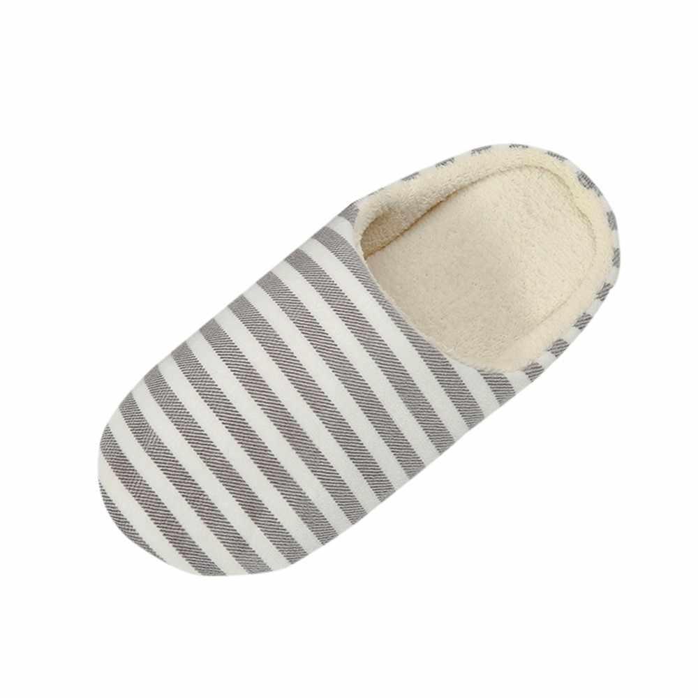 2019 winter Flats Schoenen Vrouw Casual Sneakers Thuis Slippers Linnen eenvoudige liefhebbers Sandalen Slippers Gestreepte Vrouwen Indoor Slipper
