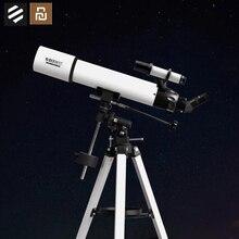 Youpin BEEBEST מקצועי האסטרונומי טלסקופ בכוכבים החלל 90mm הגדלה גבוהה HD להתחבר טלפון לקחת תמונות