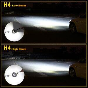 Image 5 - /HL/ LED Headlight Bulbs for Cars H4 H7 H8 H11 HB3 HB4 8000LM 6500K 40W 24V 12V H7 LED Kit Auto Lamp H4 Motorcycle HeadLight
