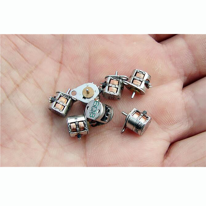 Straight Shot Import Ultra-small Diameter 6.5MM High 6MM Micro Stepper Motor Motor 2 Phase 4 Wire