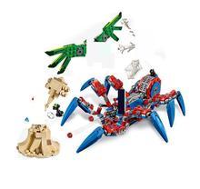 11187 Spider-man Spider Crawler Building Blocks Toys Bricks Gift For Compatible Super Hero 76114