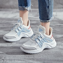 Large size Womens shoes Chunky Sneakers Basket Women Casual Platform Shoes Canvas Female Trainers Dad High Top