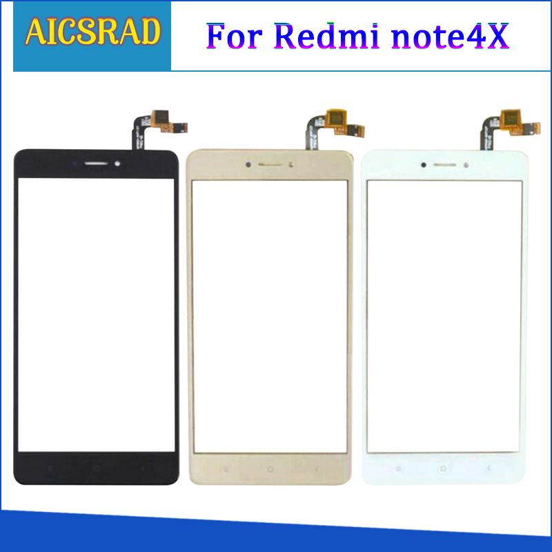 <font><b>5</b></font>,<font><b>5</b></font> ''Telefon Touch Screen Glas Für Xiaomi <font><b>Redmi</b></font> Hinweis 4X Digitizer Panel Front Glas Touch Screen <font><b>TouchScreen</b></font> Sensor Klebstoff image