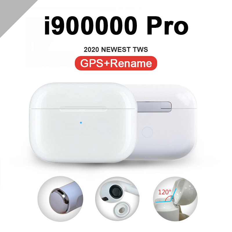 Original I100000 TWS Air Pro3 1:1 Copy Earbus Wireless Bluetooth Earphone Pk W1 H1 1536u Chip   I20000 I90000 Airpoding Pro TWS