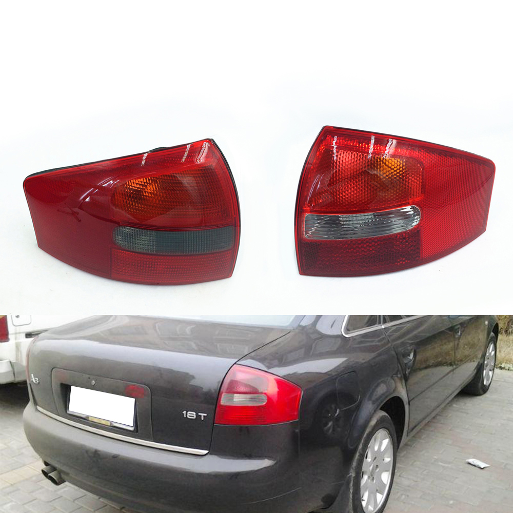 Tail Lamp For Audi A6 C5 2003 2004 2005 Car Light Assembly Rear Tail Light Turning Signal Brake Lamp Warning Bumper Light image