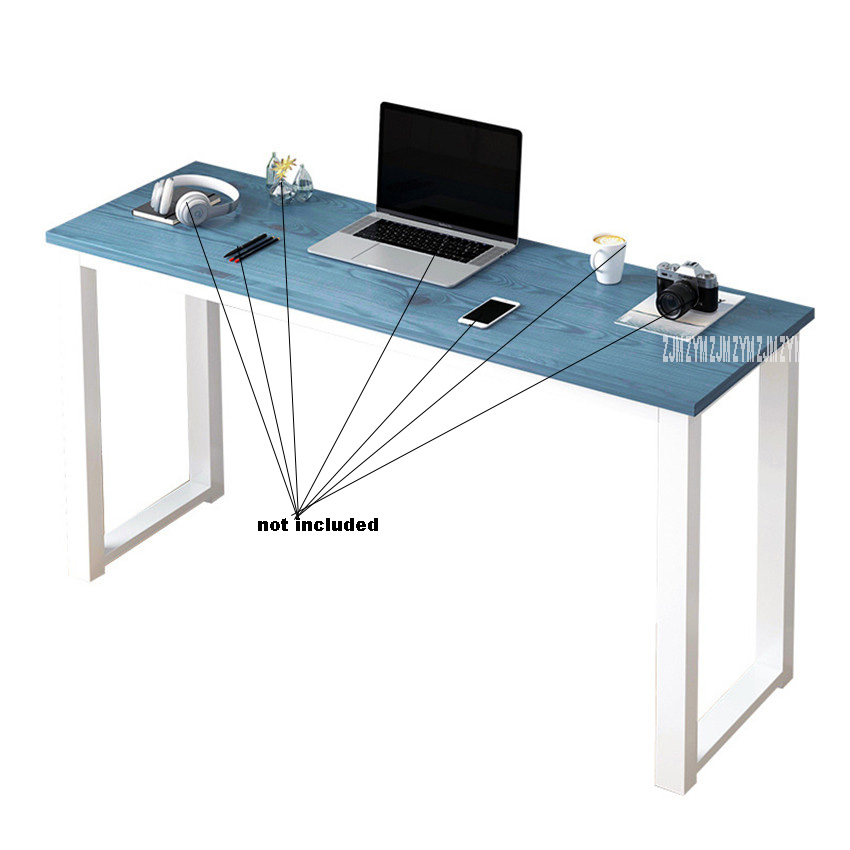 Closeout DealsComputer-Table Study-Desk Desktop Office Modern Manmade-Board Steel-Frame Household Large