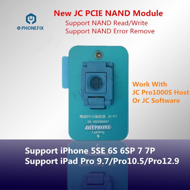 JC Pro1000S JC P7 For 5SE-7P JC P11 BGA110 Programmer For IPhone 8/8P/X/XR/XS/XSMAX NAND Read Write Memory Upgrade Error Repair