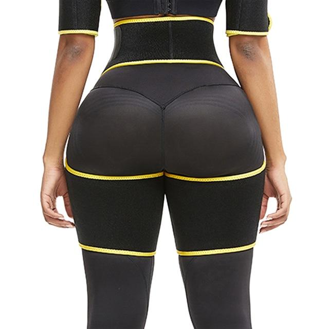 Trimmer Leg Shapers Slender Slimming Belt  Muscles Band Thigh Slimmer WrapNeoprene Sweat Shapewear 5