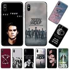 Dylan O'Brien Teen Wolf fresco teléfono caso para iPhone 11 12 pro XS MAX 8 7 6 6S Plus X 5S SE 2020 XR(China)